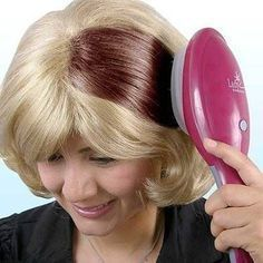 Use herbal hair colors instead of those unwanted chemical products. Here is how to make herbal hair color at home They naturally offer rich color, keeping your hair thick & long the way it is. Hair Color Brush, Hair Dye Brush, Color Your Hair, Dyed Hair, Herbal Hair Colour, Styling Comb, Styling Tools, Styling Brush, Colored Hair Tips