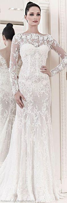 Zuhair Murad Bridal | S/S 2014 - Stunning Wedding Dress! #wedding #weddingdress #bride  #provestra