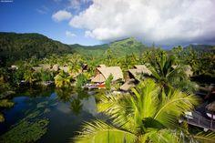 Polinesia Francese isola di Huahine