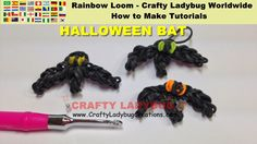Rainbow Loom Bands HALLOWEEN Vampire BAT-vampier-chauve-souris-der Vampir-el murciélago