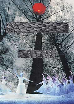 Solstice   2013   Morgaen Muñoz cut paper collage