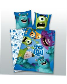 Monster University 100% cotton duvet cover