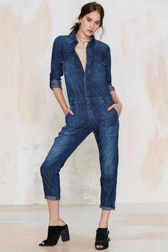 3170f5e2e454 16 Best Beauty Denim Jumpsuit images