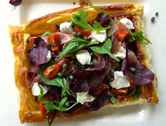 Notes of Bacon: Summer Puff Pastry Tarts