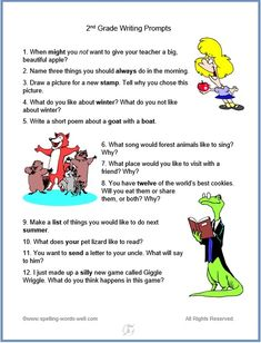 Your kids will love these grade writing prompts! This collection contains both realistic and fictional prompts, suitable for early elementary writers. 1st Grade Writing Prompts, Narrative Writing Prompts, Writing Prompts For Writers, First Grade Writing, Picture Writing Prompts, Writing Resources, Writing Process, Kids Writing, 2nd Grade Spelling Words