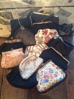 Here at Lily & Violet Vintage we have a fab collection of evening bags and purses that date from the '20s to the '50s.