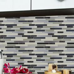 You'll love the Instant Random Sized Peel & Stick Mosaic Tile in 3 Color Blend at Wayfair - Great Deals on all Home Improvement  products with Free Shipping on most stuff, even the big stuff.