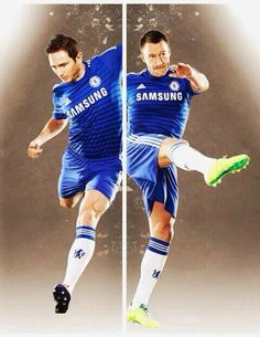 Two of our greatest players of all time! - #Chelsea #Quiz