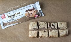 Quest bar cookies! 11 minutes to pure perfection clean cheating at it's finest.
