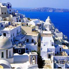 Santorini. Beautiful!