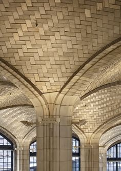 Boston Valley manufactures tiles for both restoration and new construction projects which utilize this vault and arch system. Rafael Guastavino was a Spanish architect, engineer and builder who designed the system after Catalan vault techniques and popularized its use in construction in the late 1800s.
