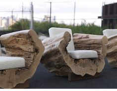 Amazing wooden chairs design. Just an inspiration by ConfidentLiving