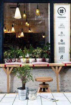 Happy Interior Blog: From Place To Space: Café Uzitak In Belgrade, Serbia