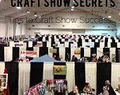 Craft Show Secrets - Make money at Craft Shows e-book Business Tips, How To Make Money, Etsy Seller, Articles, Book, Handmade, Crafts, Design, Hand Made