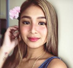 Nadine For showtime (ctto) Lady Luster, Filipina Actress, Nadine Lustre, Jadine, Celebs, Celebrities, Best Actress, Ariana Grande, Makeup Looks