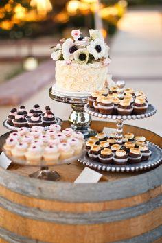 Stylish Wedding Dessert Table