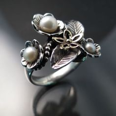 artistic silver rings - Google Search