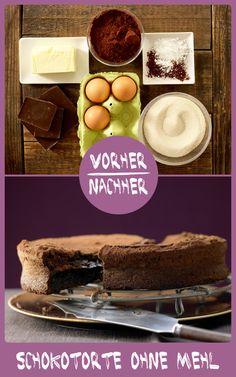 http://eatsmarter.de/rezepte/schokoladentorte-ohne-mehl – Schokoladiger kann ein Kuchen nicht schmecken!