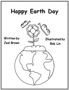 Earth Day activity to assess students' understanding of front cover information. Graphics from www. Earth Day Worksheets, Earth Day Activities, Kindergarten Rocks, Kindergarten Activities, Preschool, Social Studies Activities, Language Activities, Love The Earth, Teaching Science