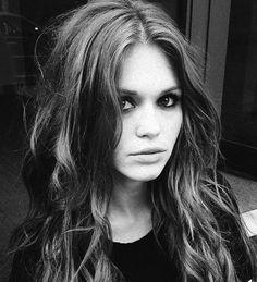 Holland Roden | NYFW 2014 (Rachel Zoe`s backstage)
