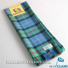 Clan MacLeod Tartan Scarf: