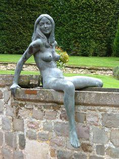 "Lady Statue in ""Le chateau de Jehay"" - Belgium"
