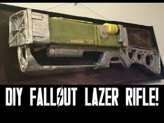 FALLOUT 4 - DIY Cardboard Laser Rifle - YouTube