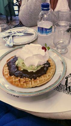 #Doce #waffle #sorvete #chocolate