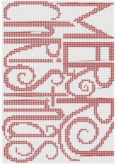 Most current Cost-Free Needlework christmas Concepts Alpha pattern pattern Cross Stitch Freebies, Cross Stitch Charts, Cross Stitch Designs, Beaded Cross Stitch, Cross Stitch Embroidery, Hand Embroidery, Cross Stitch Christmas Ornaments, Christmas Cross Stitch Patterns, Christmas Embroidery Patterns