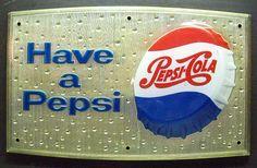 Vintage Pepsi Cola Sign, via Flickr.