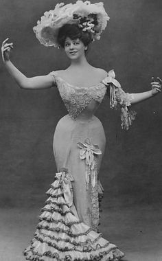 Camille Clifford, the original Gibson Girl Edwardian