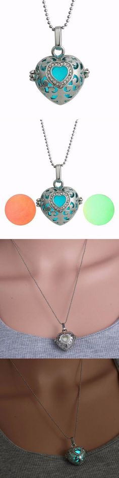 Heart  luminous bead pendant glowing necklace chain jewelry display pendants #jewelry #pendants #diy #necklace #pendants #diy #necklace #pendants #for #moms #necklaces #with #pendants