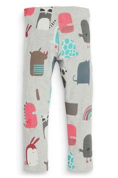 Buy Grey Dinosaur Print Leggings (3mths-6yrs) from the Next UK online shop