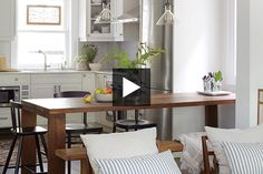 Discover the secret to a small, stylish and functional family home.