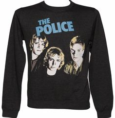 Mens Charcoal The Police Sweater This classic sweater is the perfect choice for any fan of the English rock band formed back in 1977. The main members were Sting, Andy Summers and Stewart Copeland and they had a string of hits includ http://www.comparestoreprices.co.uk/t-shirts/mens-charcoal-the-police-sweater.asp
