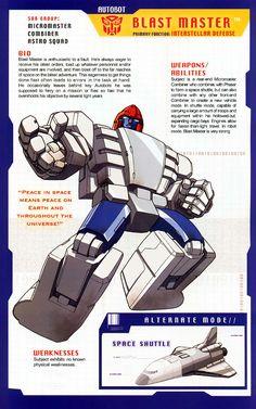 Transformer of the Day: Blast Master Transformers Decepticons, Transformers Autobots, Transformers Characters, Gi Joe, Transformers Generation 1, Karate Kid, Classic Tv, Animation Film, Anime