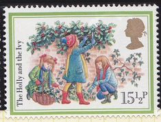 Royal Mail Christmas 1982 - The Holly and the Ivy