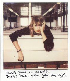 TAYLOR SWIFT - 1989 Album Polaroids