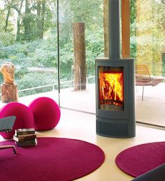 See the fantastic Wanders Solea Elegance Wood Burning Stove at Direct Stoves.com