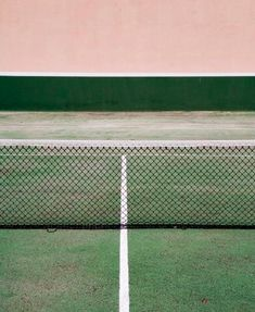 color | pink and tennis court green