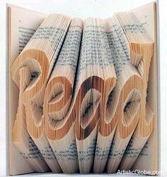 Creative Book Folding Art