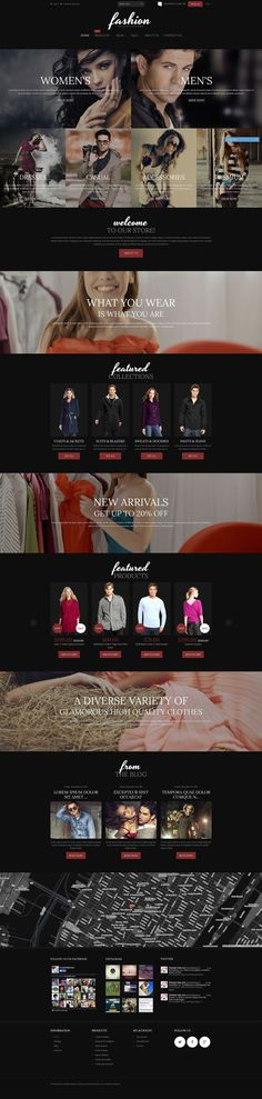 20+ Best Fashion Store Shopify Themes - Fashion Online Store (ecommerce Shopify theme) Item Picture