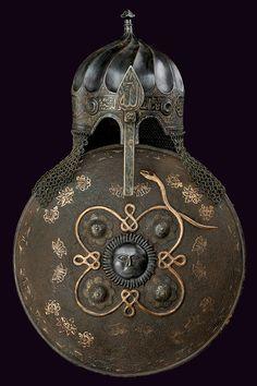 Turban Helmet & Sipar (Late 19th Century CE Turkey, Ottoman Empire)
