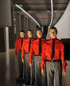 Kraftwerk. Image courtesy of Sprueth Magers, Berlin and London. © Kraftwerk