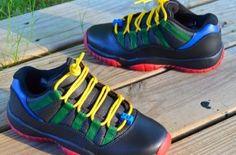 """Air Jordan 11 Low GS """"Lego"""" Custom ae06e7083"""