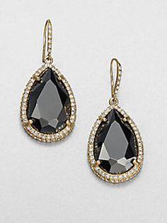 ABS by Allen Schwartz Jewelry- Faceted Drop Earrings- $65