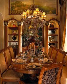 50 Glorious And Luxury Western Dining Room Design