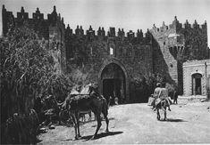 Jerusalem - Damascus Gate - 1925