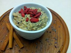 Looking to switch up your morning #breakfast? Try my Creamy Fruit N' Nut Oats recipe from #freshtakesolutions- http://www.freshtakesolutions.ca/blog/recipes/creamy-fruit-n-nut-oats/ #vegan, #glutenfree, #soyfree breakfast or #snack dish. Pins, likes and shares are appreciated :)