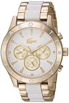 c2ff3309fdf Quartz Stainless Steel Casual Watch - Lacoste Relógios Casuais